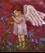 Bild von einem Engel